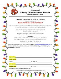 2020 Christmas Parade Form Christmas Parade – Sabine Fire and Rescue